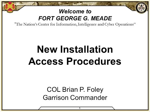 Access Control Procedures Town Hall
