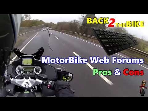 MotorBike Web Forums - Pros & Cons