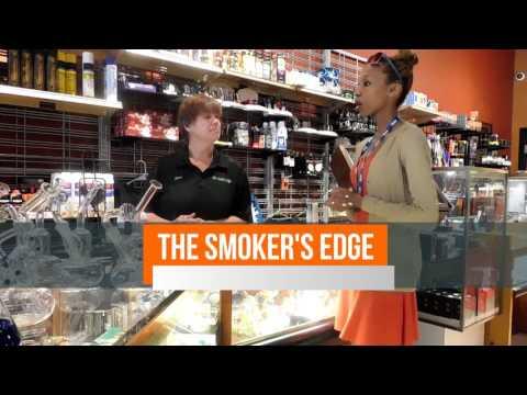 Model K Payne visits The Smoker's Edge in Maricopa, AZ