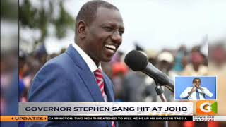 Joho files defamation suit against DP Ruto allies