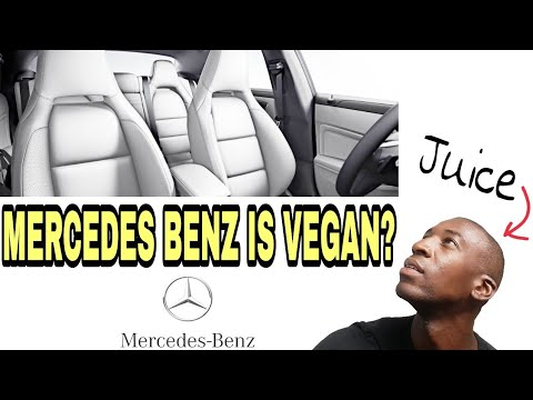 Is Mercedes-Benz Vegan? | What Is MB-Tex Seat Upholstery? | MB-Tex vs. Leather | JUICE84