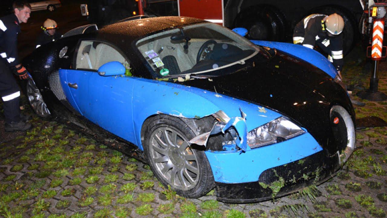 bugatti veyron accident latest car accident of bugatti. Black Bedroom Furniture Sets. Home Design Ideas