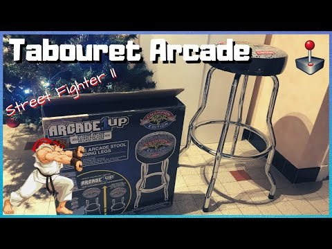 Tabouret Arcade 1UP Street Fighter II: une chouette idée déco!! 👍 from RETRO-FAB