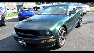 2009 Ford Mustang Bullitt Walkaround, Start up, Tour, Exhaust and Overview