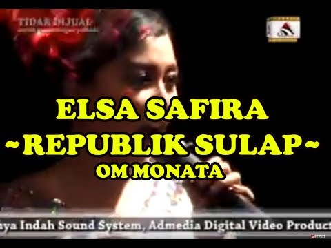 OM MONATA - ELSA SAFIRA - REPUBLIK SULAP - WLINGI BLITAR EXPO 2015