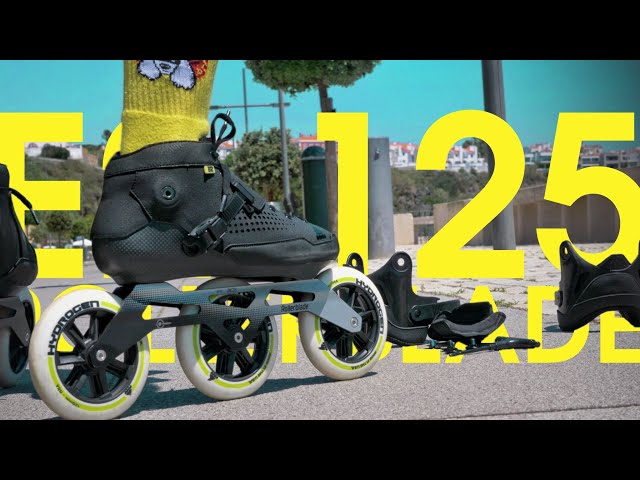 ROLLERBLADE E2 125 PRO REVIEW - THE 2 IN 1 INLINE SKATE FOR FITNESS AND MARATHONS