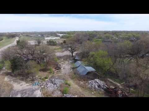 What is left of Joyland Wichita Kansas DJI Phantom 4