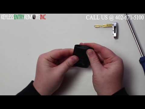How To Replace Cadillac CTS Key Fob Battery 2009 – 2014
