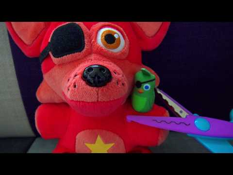 FNAF Plush - Rockstar Foxy Lost His Parrot?