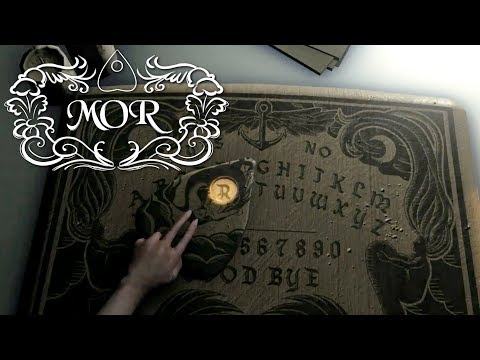 MOR - OUIJA BOARD Horror Game, Manly Let's Play
