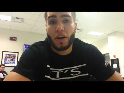 PRICHARD COLON EXCLUSIVE POST FIGHT INTERVIEW! TALKS CAREER & BENEFITS OF SIGNING WITH AL HAYMON!