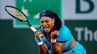 2016 BNP Paribas Open Semifinal | Serena Williams vs Agnieszka Radwanska | WTA Highlights