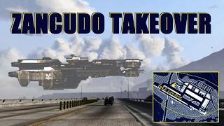 GTA 5 OPERATION: ZANCUDO TAKEOVER ** Taking Control of the Massive Military Base in GTA V!! **