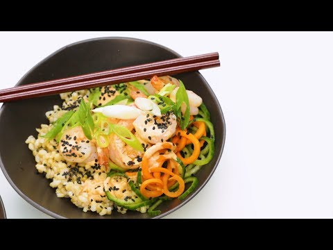 Sustainable Sea food Sushi Bowls