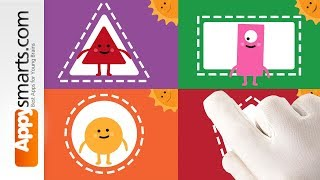 Sort and Learn Shapes (preschool and kindergarten level) with Goodness Shapes