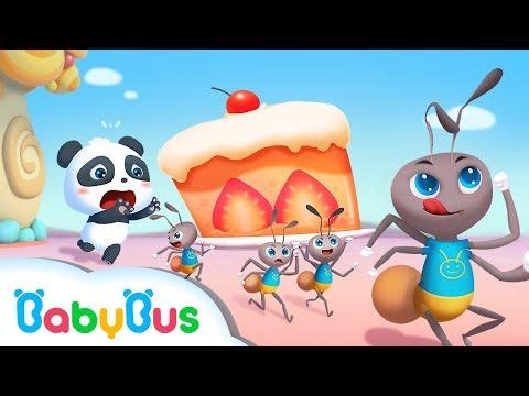 Baby Panda's Cake is Missing | Baby Panda's Magic Tie | Magical Chinese Characters | BabyBus