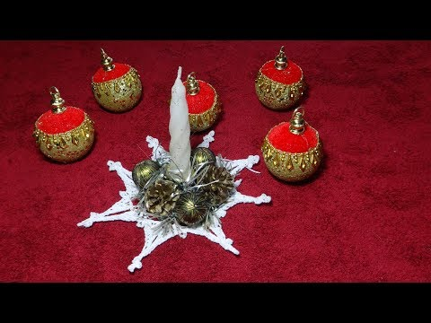 Поделки вязанные крючком на новый год