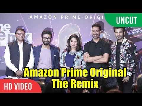 UNCUT - Amazon Prime Original The Remix Trailer Launch | Amit Trivedi, Sunidhi Chauhan, Karan Tacker