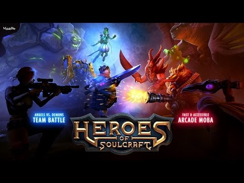 [HD] Heroes of SoulCraft (HoS) MOBA Gameplay IOS / Android | PROAPK