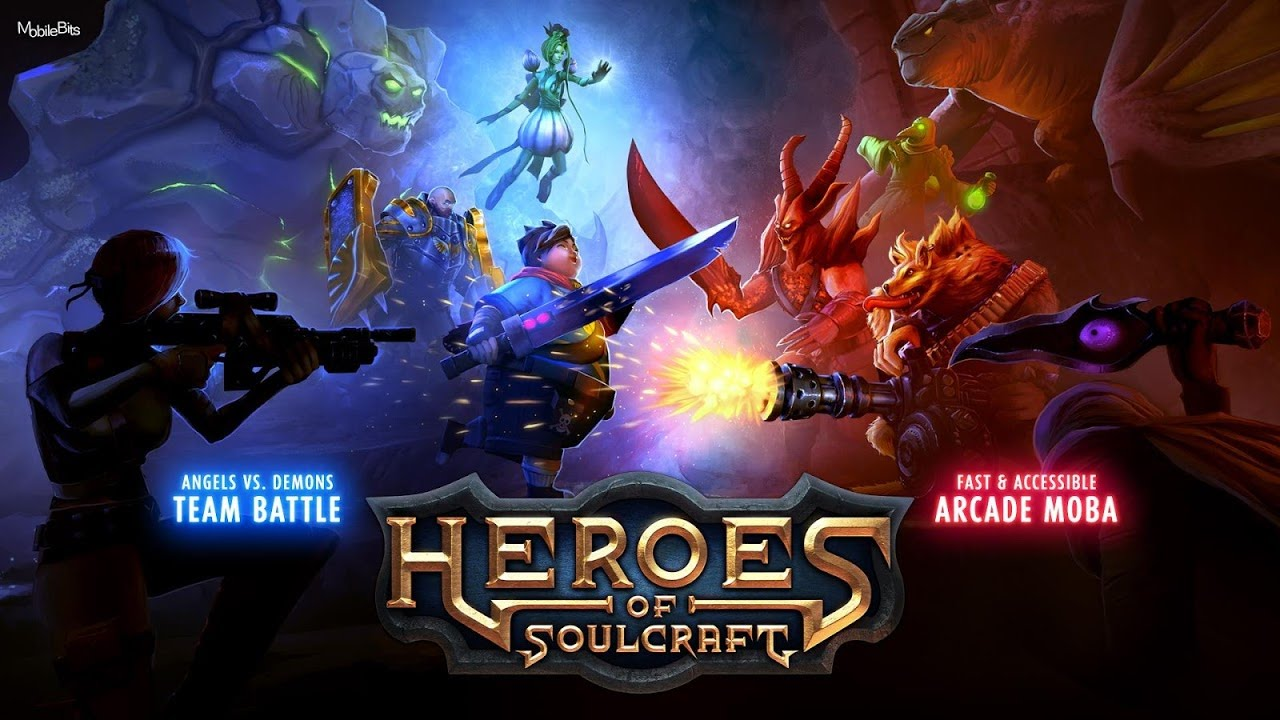 Hd Heroes Of Soulcraft Hos Moba Gameplay Ios Android