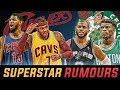 INSANE SUPERSTAR RUMORS AND BLOCKBUSTER DEALS | 2017 Free Agency RECAP