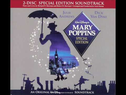 Free Download Walt Disney's Mary Poppins Special Edition: 24 Chim Chim Cher-ee/march Over The Rooftops Mp3 dan Mp4
