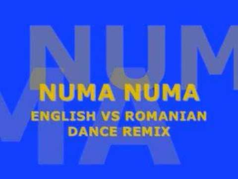 NUMA NUMA ENGLISH VS ROMANIAN DANCE REMIX (MP3. DOWNLOAD IN DESCRIPTION)