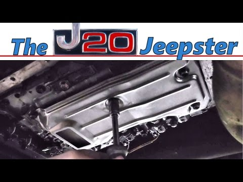 Automatic Transmission Filter Replacement 99 Cherokee 4speed