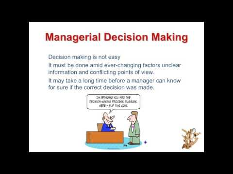 All About Business: Decision Making Part 1