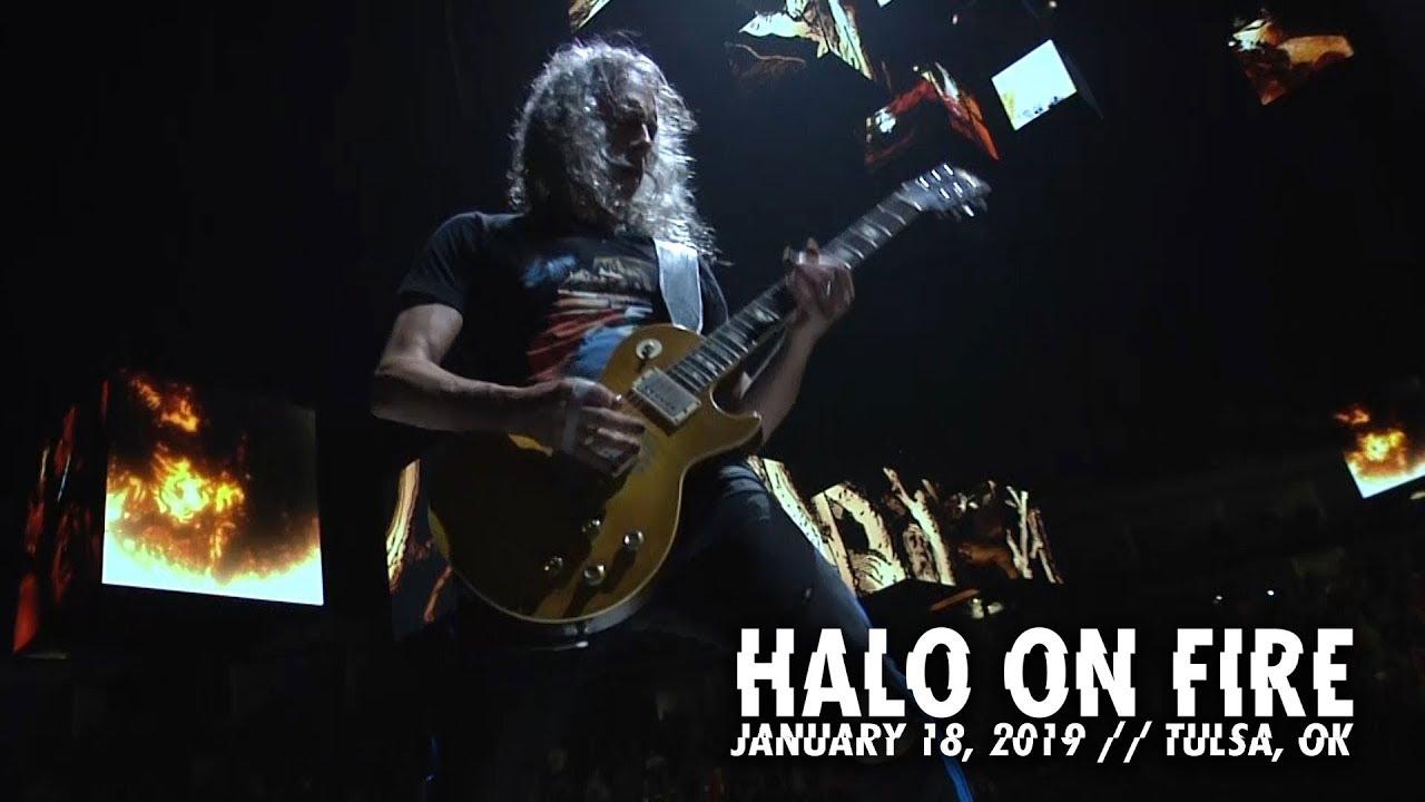 e6b4cdf982 Metallica  Halo On Fire (Tulsa