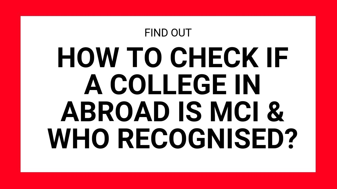 Step-by-step Guide for MBBS in Abroad - How to Select the Best College