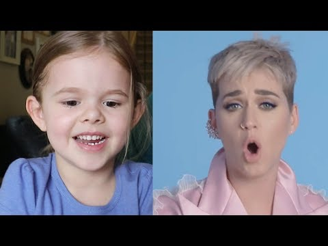 5-YEAR OLD WATCHES KATY PERRY'S REACTION TO HER SINGING