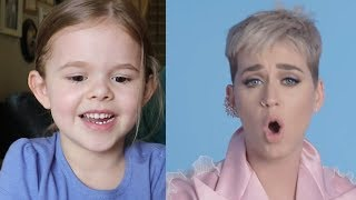 5-YEAR-OLD WATCHES KATY PERRY