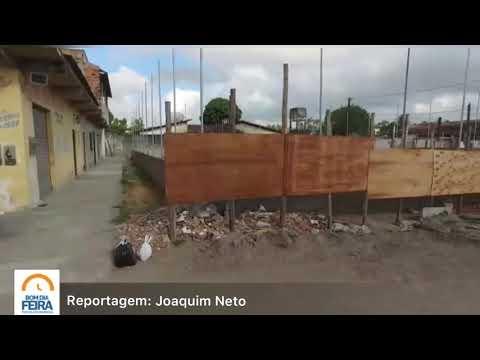 Moradores cobram revisão da construção de quadra no bairro Conceição
