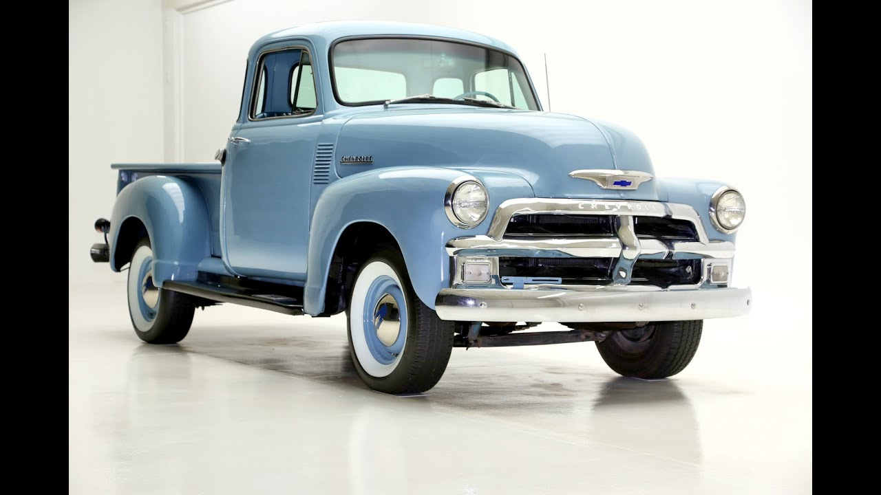 1955 Chevy Truck Stepside Youtube Ford F100 Wide Bed