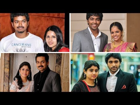 Tamil Actors And Their Real Life Wives | You won't believe - Part #1