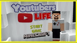 Youtubers Life - Youtuber Simulator - Minecraft Harita 1.12