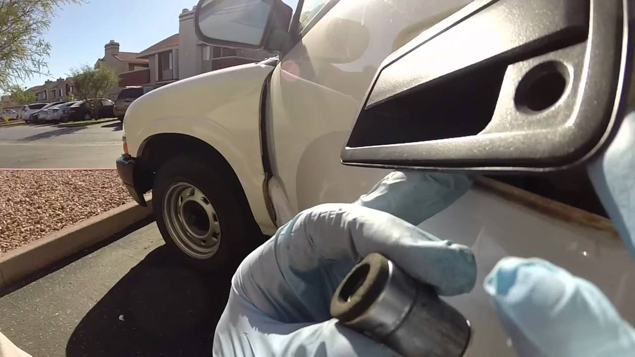 How To Replace A Door Key Cylinder 2002 Chevy S10