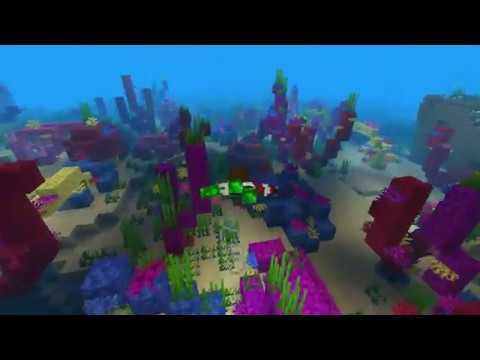 The Ambient Beauty of Minecraft 1.13 Update Aquatic - NEW music by c418