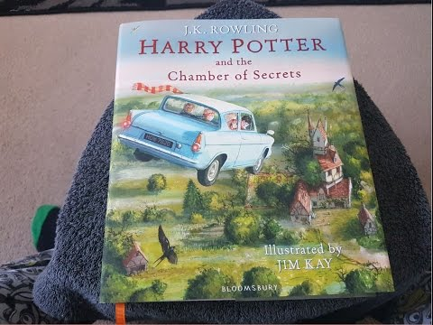 Harry Potter and the Chamber of Secrets Illustrated Edition Unboxing