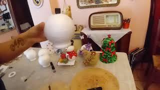 Come forare le sfere di polistirolo