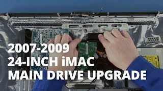 24-Inch iMac (2007-Early 2009) Hard Drive Install Video