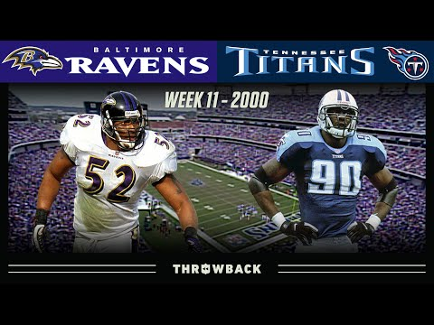 [NFL Throwback] An Epic Finish in an Epic Rivalry! (Ravens vs. Titans, 2000 Week 11)
