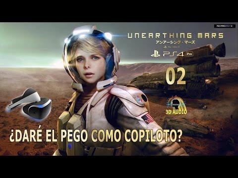 02 Unearthing Mars Marte: ¡Menudo papelón! PSVR  PS4 Pro Español Gameplay