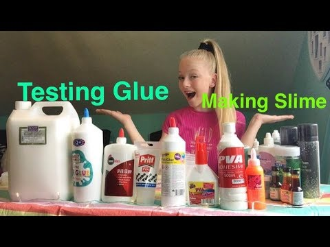 MAKING SLIME UK AND IRELAND / TESTING PVA GLUE, WHERE TO BUY