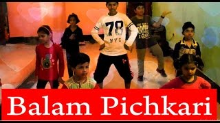 Balam Pichkari Full Song Video Yeh Jawaani Hai | Holi Dance | CHOREOGRAPHY FOR KIDS | Steppers