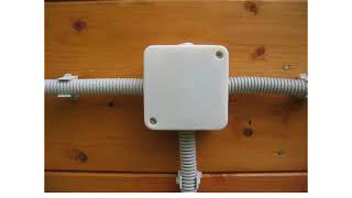 Электрика своими руками урок 28 - Открытая проводка