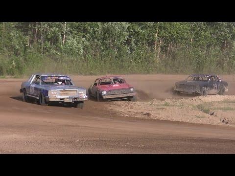 Capitol Speedway 6/13/15- Stock Class Heat 3