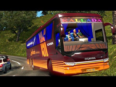 Kallada Scania Metrolink Euro Truck Simulator 2 Kallada Travels