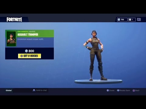 Assault Trooper back in the store! Item shop aug 15th (Fortnite BR)